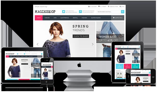 Resposive web design service